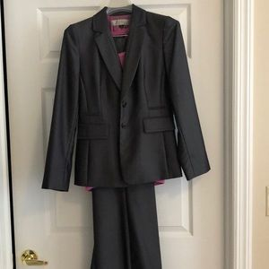 Women's grey suit